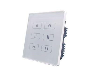 Сенсорная панель управления шторами на две линии