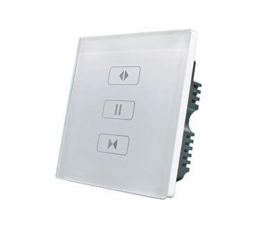 Сенсорная панель управления шторами одна линия
