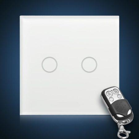 Сенсорный выключатель двухлинейный с радиоуправлением