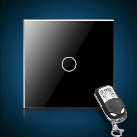 Сенсорный выключатель однолинейный с радиоуправлением
