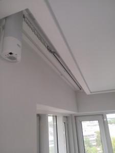 Электрокарниз для шторы и тюли