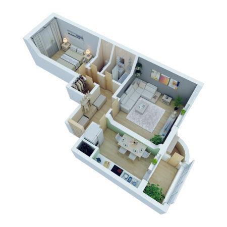 Умный дом для 2-комнатной квартиры