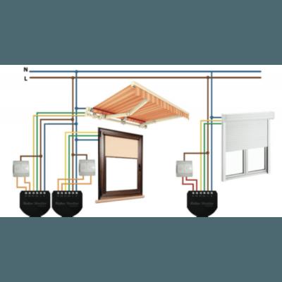 Управление автоматическими шторами через Fibaro