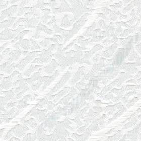 Белая ткань для рулонной шторы Бали