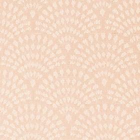Персиковая ткань для рулонной шторы АЖУР
