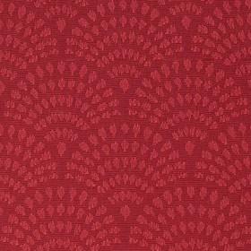 Красная ткань для рулонной шторы АЖУР