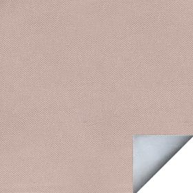 Ткань для рулонных штор АЛЬФА светло-коричневая