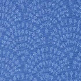 Синяя ткань для рулонной шторы АЖУР