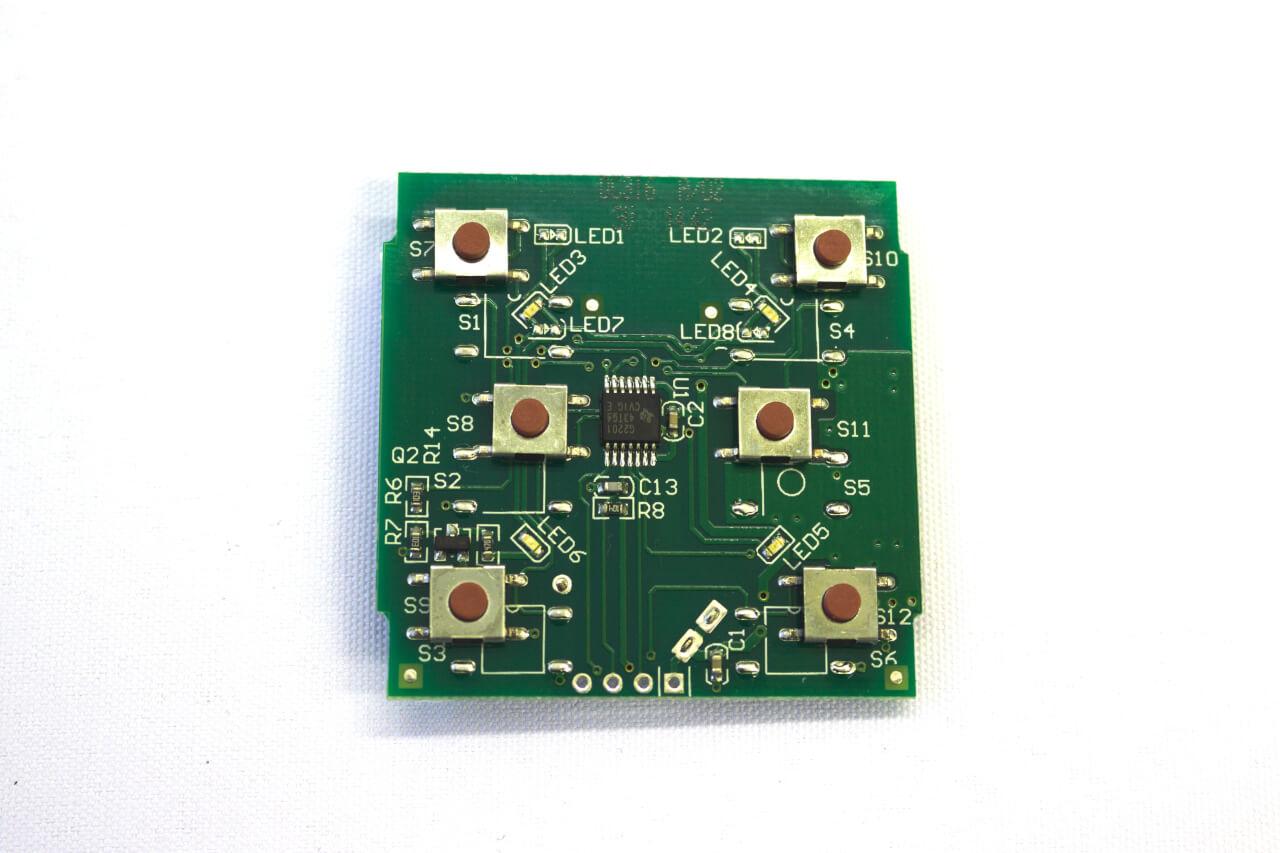 Настенный радиовыключатель схема
