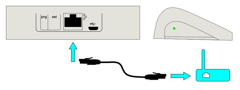 Подключение к Интернету контроллера Somfy Connexoon RTS