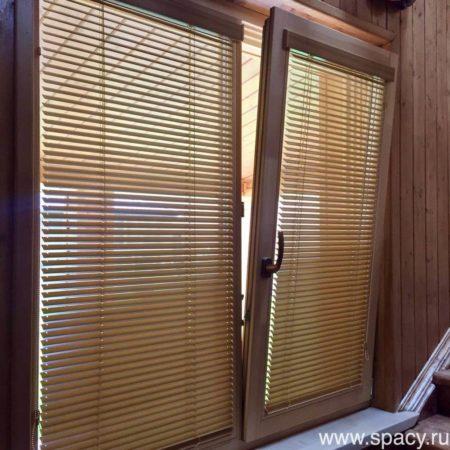 деревянные жалюзи 25 мм