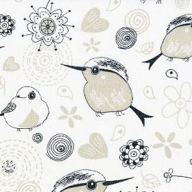 Птички белый 200 см