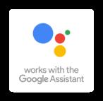 Работает с Google Assistant