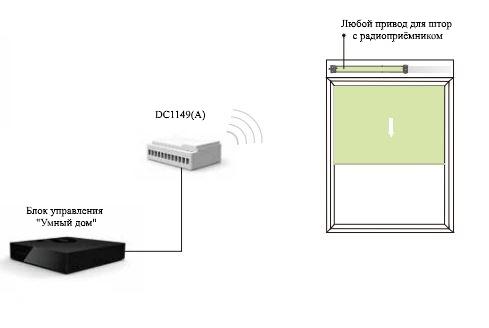 Схема подключения DC1149