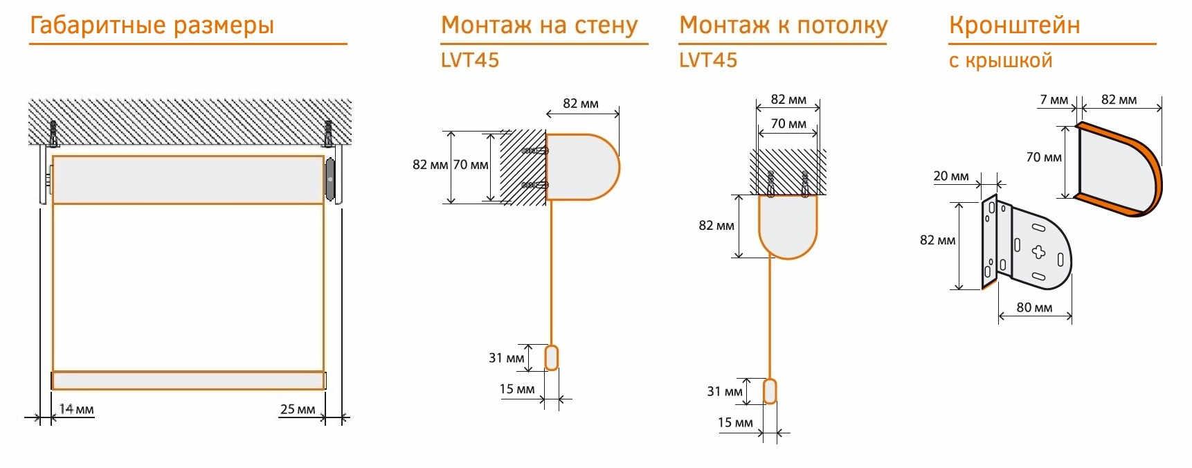 montazhnye rrazmery LVT45
